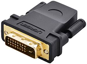 Uhreen DVI HDMI Adapter